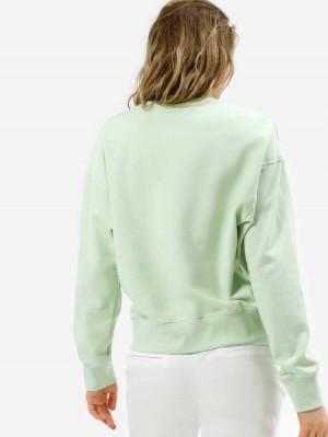 Herrlicher Carrie Sweatshirt mit Logo Print