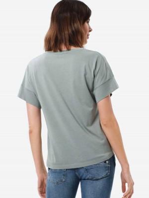 Herrlicher Fia T-Shirt mit Gummizug