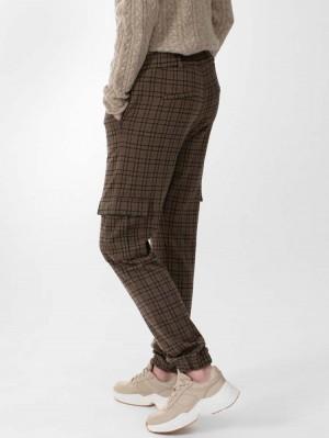 Herrlicher Kinsley Jersey Hose mit Karo-Muster