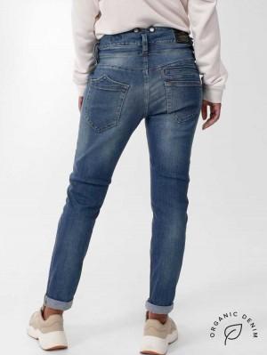 Herrlicher Pitch Mom Jeans aus Bio-Baumwolle