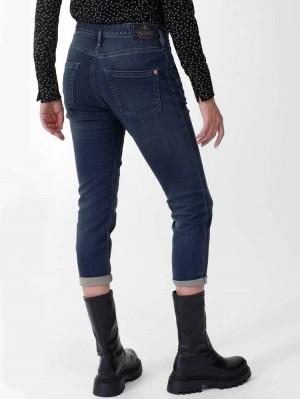 Herrlicher Shyra Cropped Jeans aus Jogg Denim