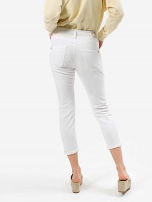 Herrlicher Shyra Cropped Jeans in Weiß