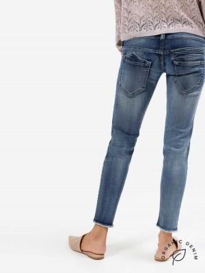 Herrlicher Pitch Slim Cropped Jeans aus Bio-Baumwolle