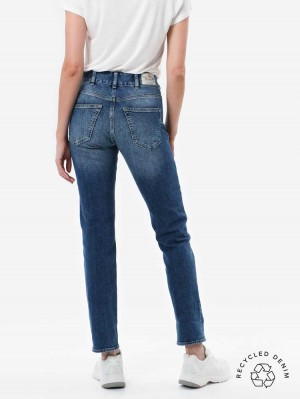 Marlies Straight Jeans mit recycelter Baumwolle