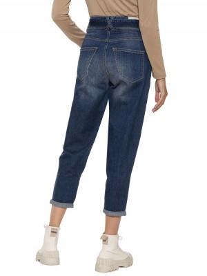 Herrlicher Kabira Cashmere Touch Jeans mit Denimgürtel