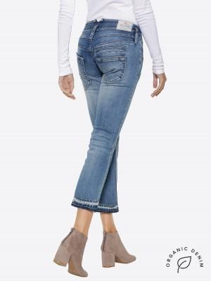 Herrlicher Pitch Boot Jeans aus Bio-Baumwolle