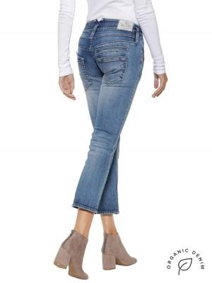 Herrlicher Pitch Bootcut Jeans mit Bio-Baumwolle
