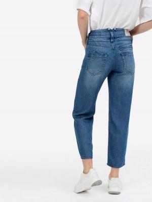 Herrlicher Pitch HI Tap Jeans aus Lyocell