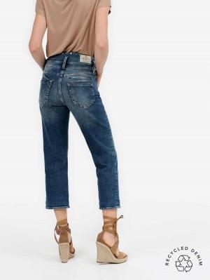 Herrlicher Pitch HI Tap Jeans mit recycelter Baumwolle