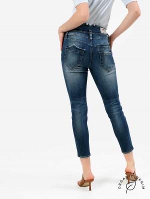 Herrlicher Pitch HI Slim Jeans aus Bio-Baumwolle