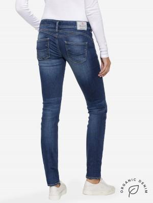 Herrlicher Gila Slim Jeans aus Bio-Baumwolle