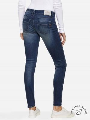 Herrlicher Touch Slim Jeans aus Bio-Baumwolle