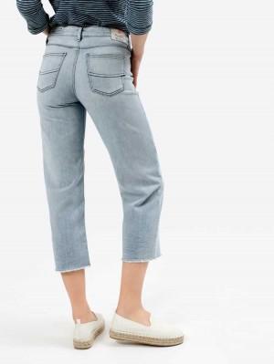 Herrlicher Super G Sailor Cropped Jeans mit Cashmere-Touch