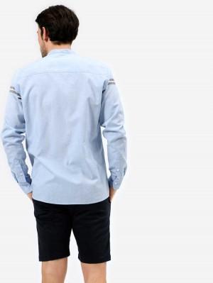 Herrlicher Ethan Hemd mit Streifen-Design