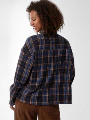 Herrlicher Lash Hemdjacke mit Karo-Muster