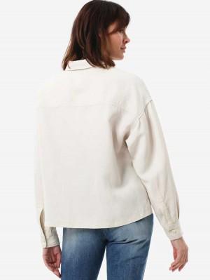 Herrlicher Lash Hemdjacke aus Leinenmix