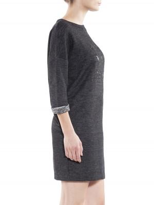 Herrlicher Jeanne Sweat Kleid