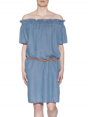 Herrlicher Clarina Off-Shoulder Kleid