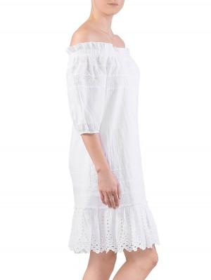 Herrlicher Jule Cotton Lace Mix Kleid