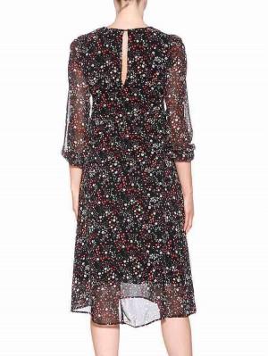 Herrlicher Lisann Printed Chiffon Kleid