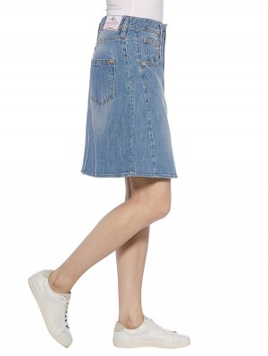 Herrlicher Shyra Skirt Denim Stretch Rock