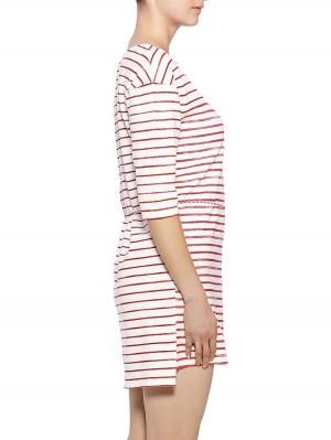 Herrlicher Martyna Sweat Striped Kleid