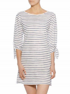 Evelyn Sweat Striped Kleid, tint