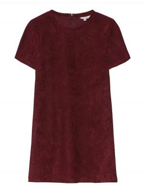 Herrlicher Choly Kleid in Wildlederoptik