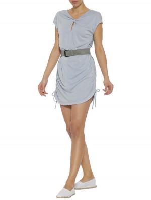 Herrlicher Valentizia Kleid mit Raffungen und Bändern