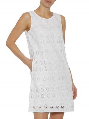 Herrlicher Fenja Baumwoll-Kleid mit Lochspitze