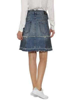 Herrlicher Peri Jeansrock Two-in-One