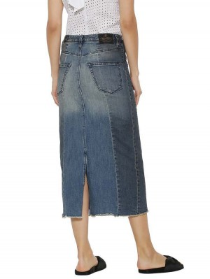 Herrlicher Sofina Jeansrock Two-in-One