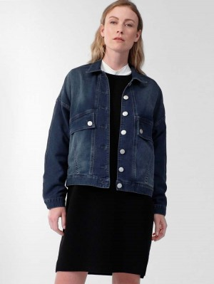 Herrlicher Jody Oversized Jeansjacke aus Jogg Denim