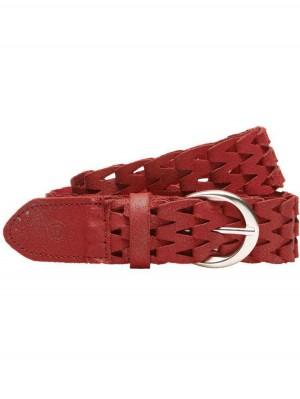 Herrlicher Brady Ledergürtel rot