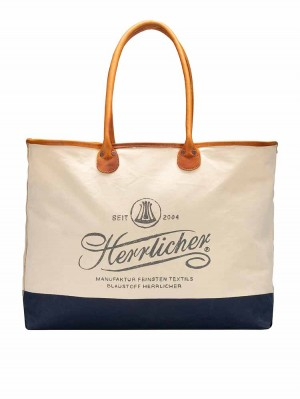 Herrlicher Girl Canvas Shopping Bag