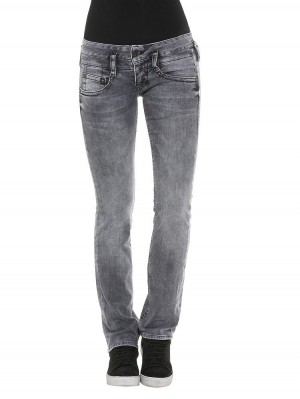 Herrlicher Pitch Black Straight Stretch Jeans
