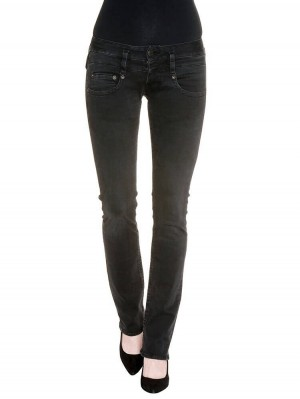 Herrlicher Pitch Denim Black Stretch Jeans schwarz