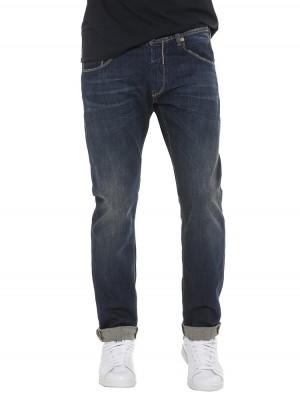 Herrlicher Trade Denim Stretch Jeans dunkelblau vorne