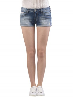 Herrlicher Touch Shorty Denim Stretch Jeans vorne