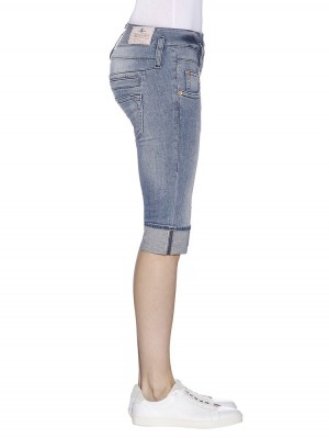 Herrlicher Pitch Short Denim Stretch