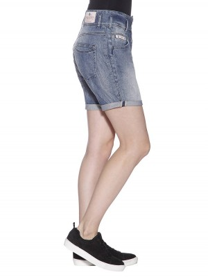 Herrlicher Raya Short Denim Stretch