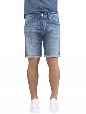 Herrlicher Tyler Tap Short Denim Stretch Jeans