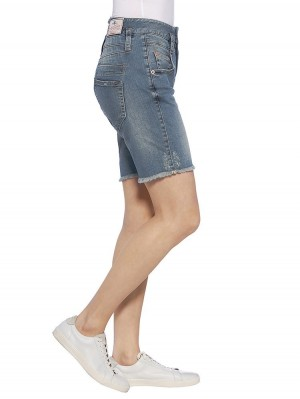 Herrlicher Pitch Shorty Denim Powerstretch