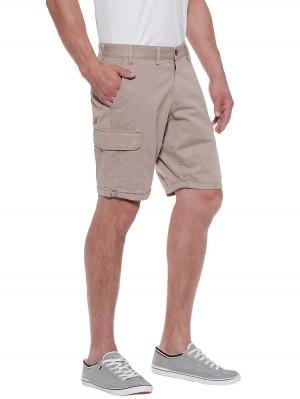 Herrlicher Iver Cargo Shorts aus Baumwolle