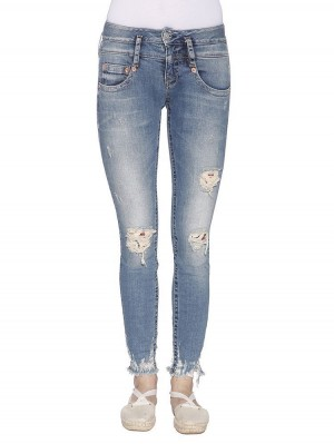 Herrlicher Pitch Slim Denim Powerstretch vorne