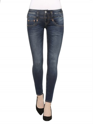 Herrlicher Pitch Slim Denim Powerstretch Jeans blau