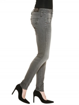 Herrlicher Pitch Slim Denim Black Stretch Jeans