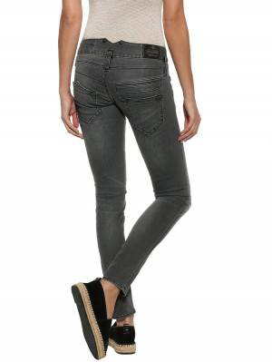Herrlicher Pitch Slim Black Stretch Jeans