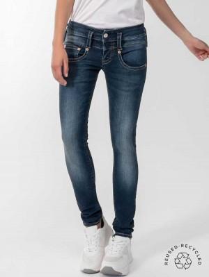 Herrlicher Pitch Slim Jeans aus Reused Denim