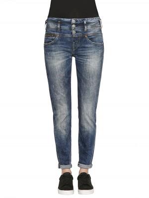 Herrlicher Raya Boy Denim Comfort + Jeans blau